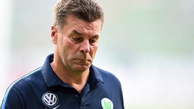 Dieter Hecking sto bandunar VfL Wolsburg.