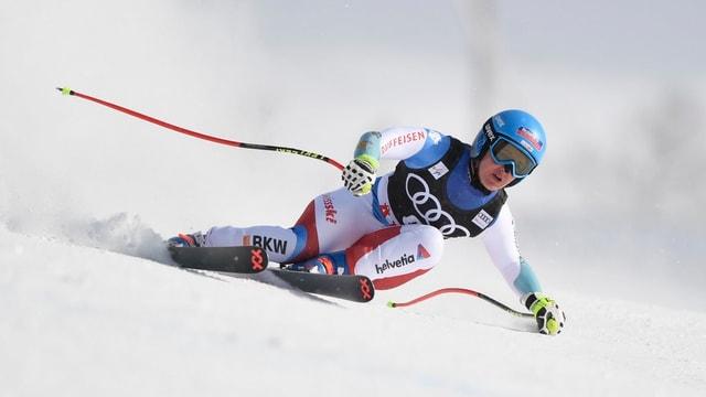 La skiunza Joana Hählen.