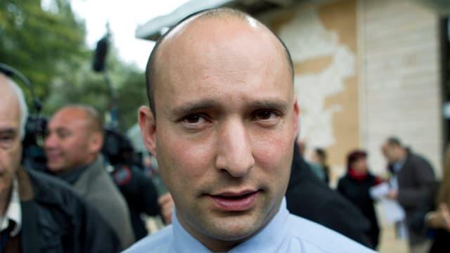Naftali Bennett von der israelischen Siedlerpartei