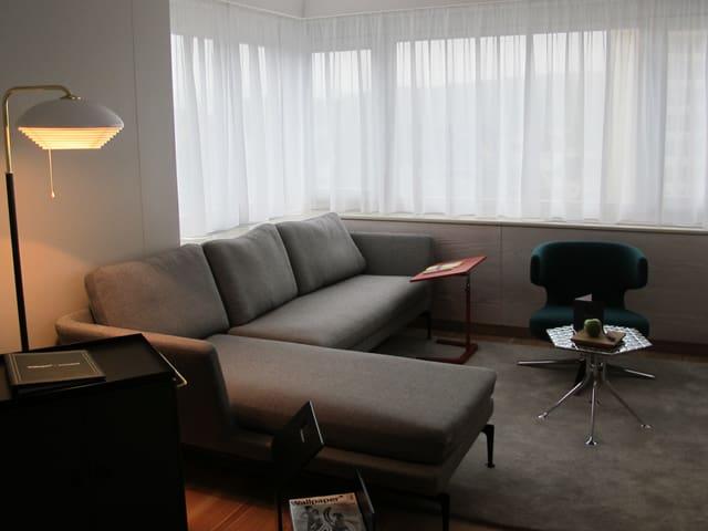 Zimmereinrichtung im «Swissotel» in Zürich-Oerlikon