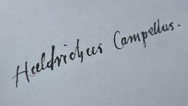 L'ovra da Durich Chiampell che descriva il Grischun – uss en ina nov'ediziun cumpletta