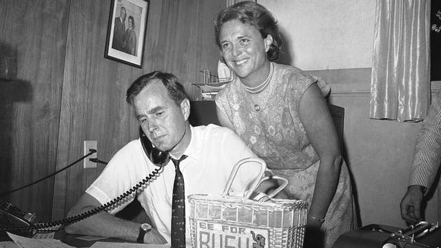 Barbara Bush und George H.W. Bush