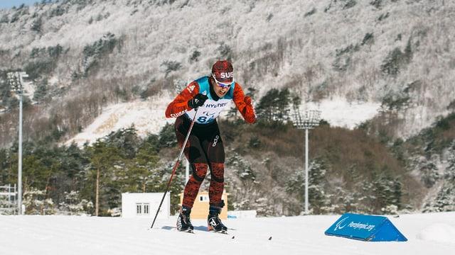 Luca Tavasci durant Paralimpics