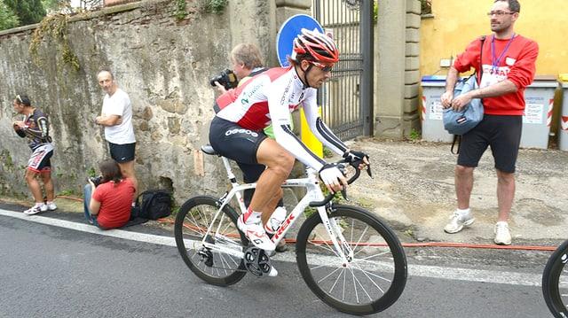 Fabian Cancellara bei einer Trainingsfahrt.
