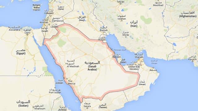 Die Arabische Halbinsel.