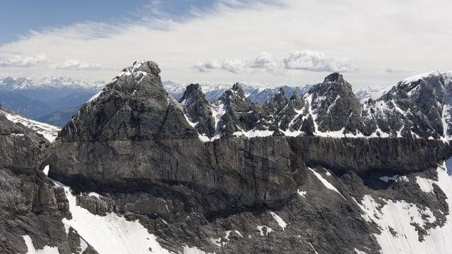 Panorama dals Tschingelhörner.
