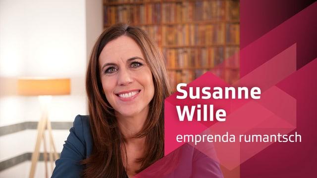 Purtret da Susanne Wille.