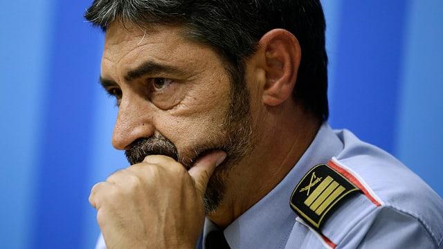 Cunter il schef da polizia catalan, Josep Lluis Trapero vegn investigà.
