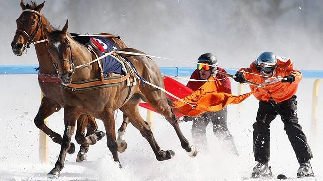 Video ««sportlounge» beim Skijöring St. Moritz» abspielen