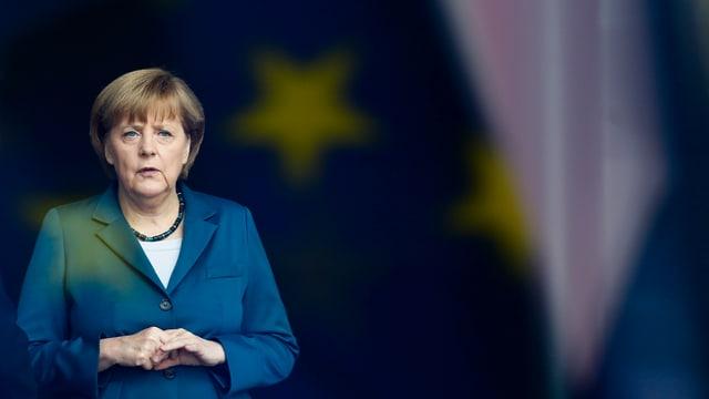 Portrait Angela Merkel.