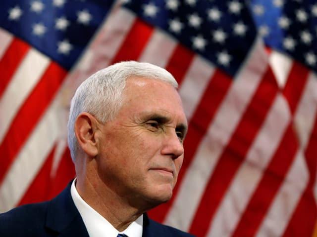 Mike Pence wird das Amt des Vizepräsidenten ausfüllen.