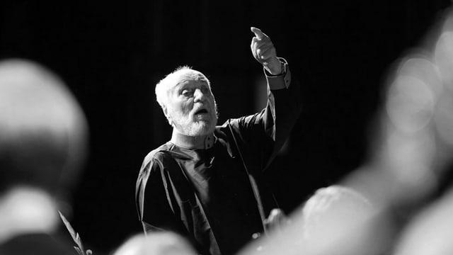 Kurt Masur avant dus onns durant in concert a Peenemünde.
