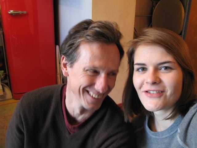 André Schürmann und Hazel Brugger