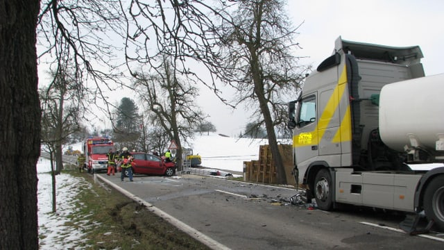 Unfall bei Mägenwil