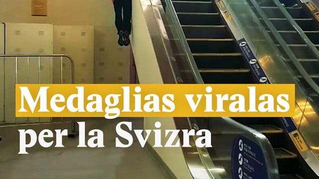 Laschar ir video «Medaglias viralas per la Svizra»