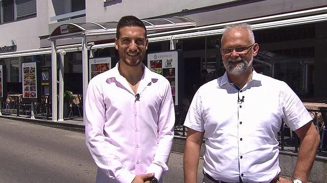 Video «Kanton Tessin – Tag 3 – Pizzeria Piazza, Tenero» abspielen