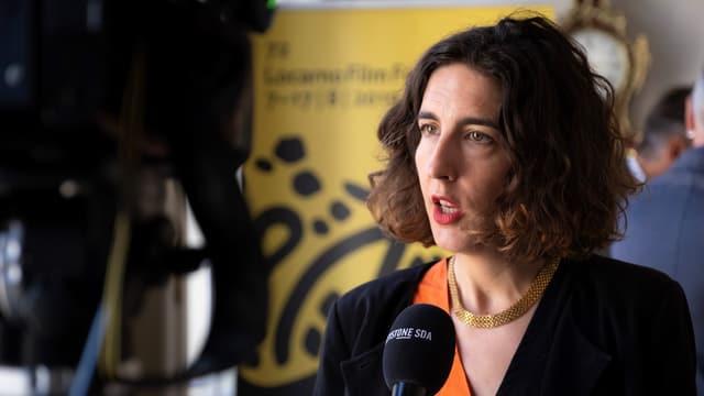 Lili Hinstin, la directura artistica dal Locarno Festival.