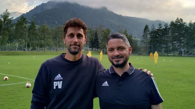Philippe Vincenz e Donat Albin.