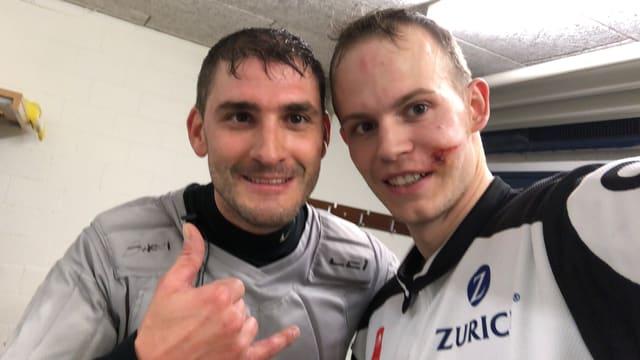 Stany Gnemmi und Sandro Gurtner
