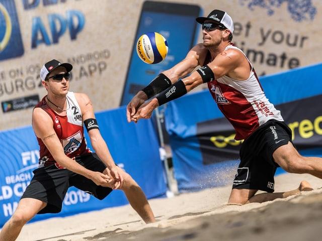 Adrian Heidrich und Mirco Gerson