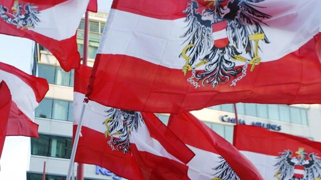 Bandieras austriacas.