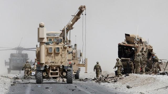 US-Soldaten nach Selbstmord-Anschlag