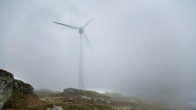 Igl ha memia pauc vent sin la Tällialp per construir in implant cun 6 turbinas da vent.