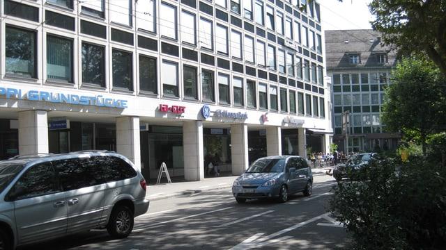 Das Uniongebäude in St. Gallen.