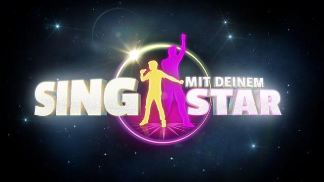 Signet Sing mit deinem Star