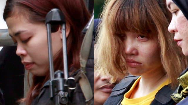 Die beiden Angeklagten Frauen