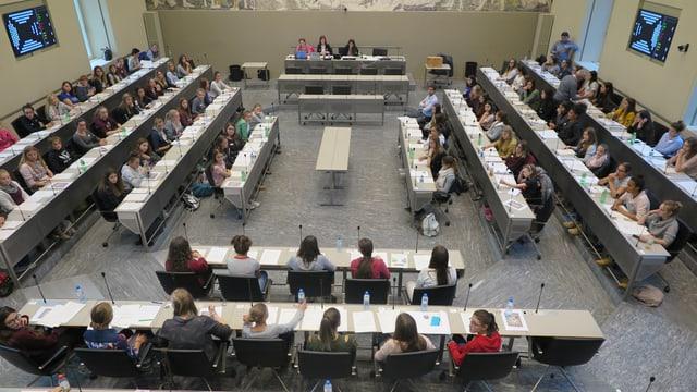 Mädchenparlament Chur