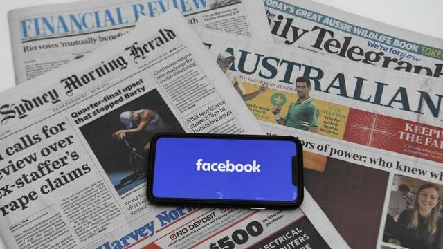 Facebook überrascht Australier