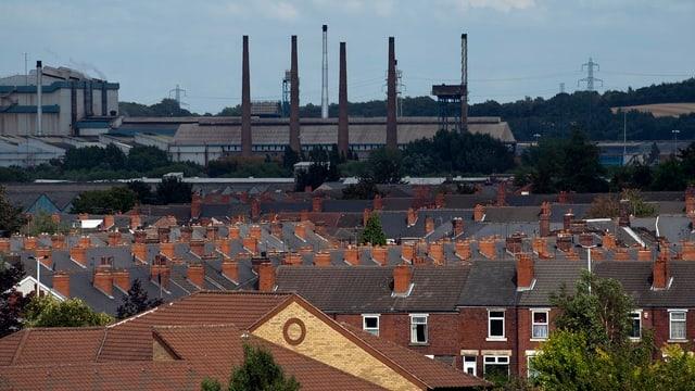 Blick auf Rotherham
