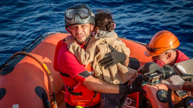 Rettungsschiff «Vos Hestia»