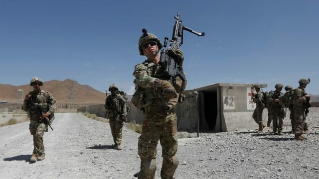Seit 2001 in Afghanistan