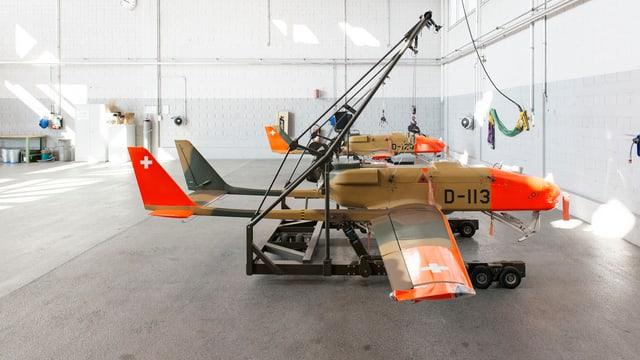 dronas, aviuns pitschens senza pilot