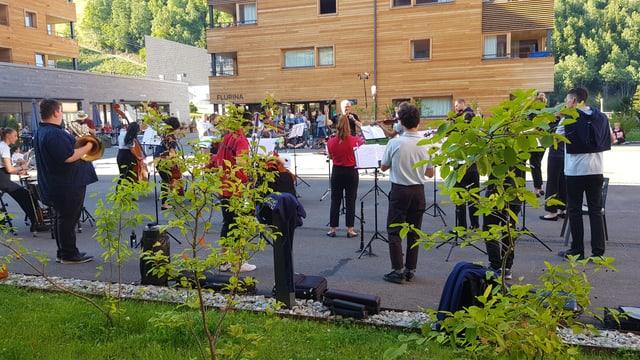 Concert en il Catrina Ressort.