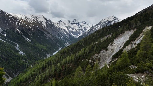 Ein Seitental des Nationalparks