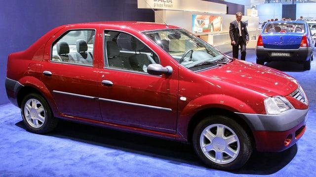 Il prim model da Dacia è sta il Logan.