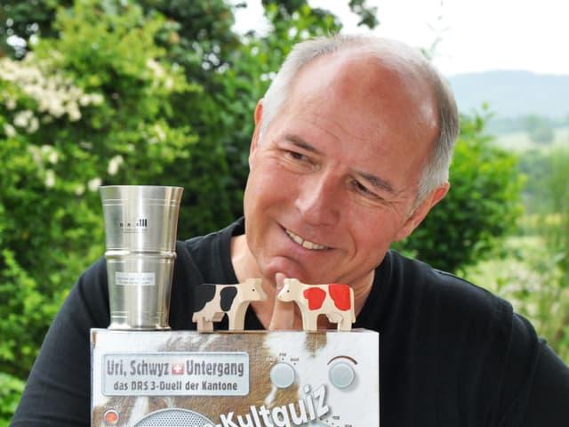 François Mürner und Nik Hartmann haben «Uri, Schwyz und Untergang» gemeinsam entwickelt.
