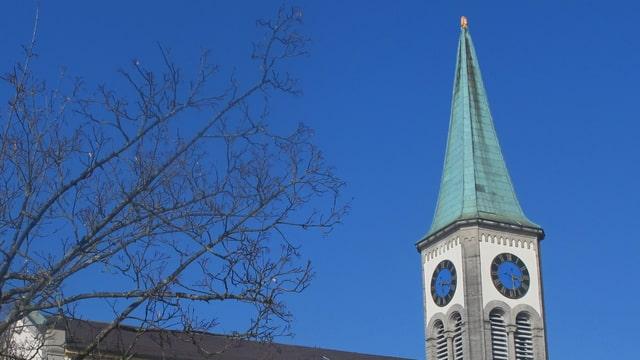 Kirchturm von Oberentfelden