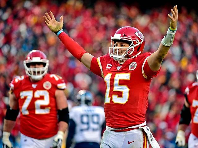 Finalaffiche in der NFL steht - Dank starker Offensive: Chiefs und 49ers im Super Bowl