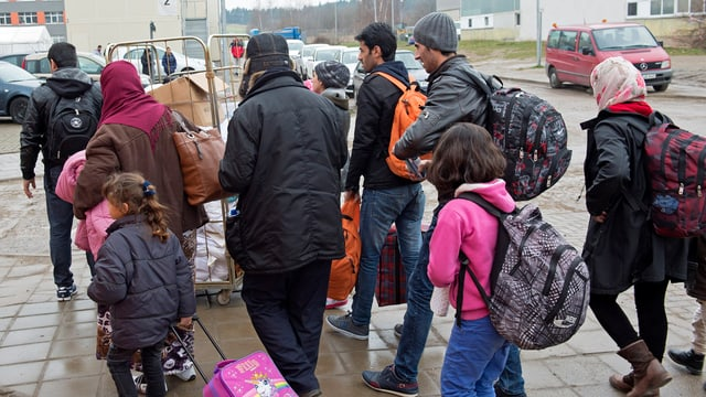 fugitivs che arrivan en Germania