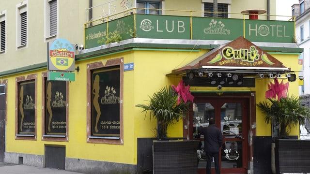 Chillis Club von aussen