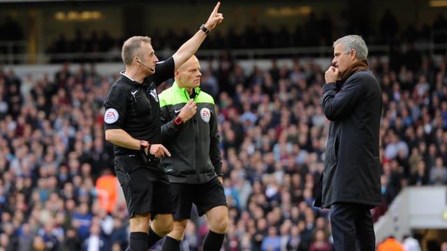 Jonathan Moss und José Mourinho