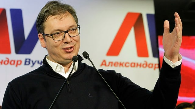 Aleksandar Vucic.