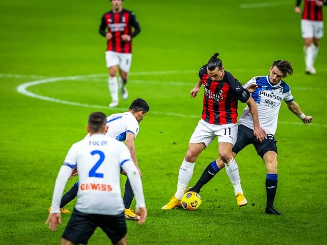 Die AC Milan kassiert gegen Atalanta die zweite Saisonniederlage.