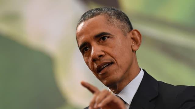 Il president american, Barck Obama.