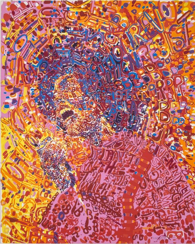 Wadsworth Jarrell: «Revolutionary», 1972.