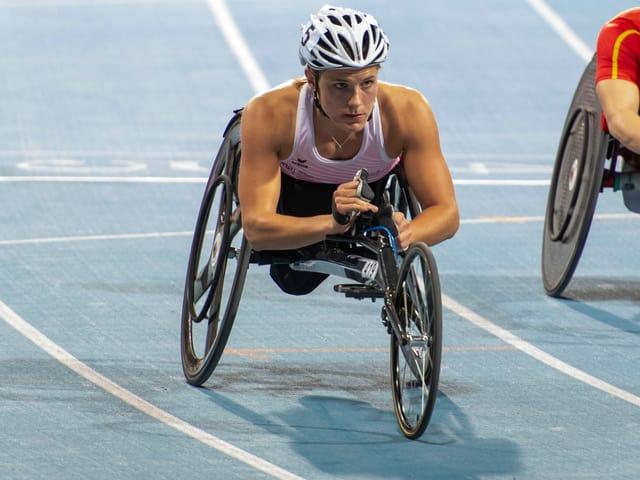 Catherine Debrunner (26), Leichtathletik